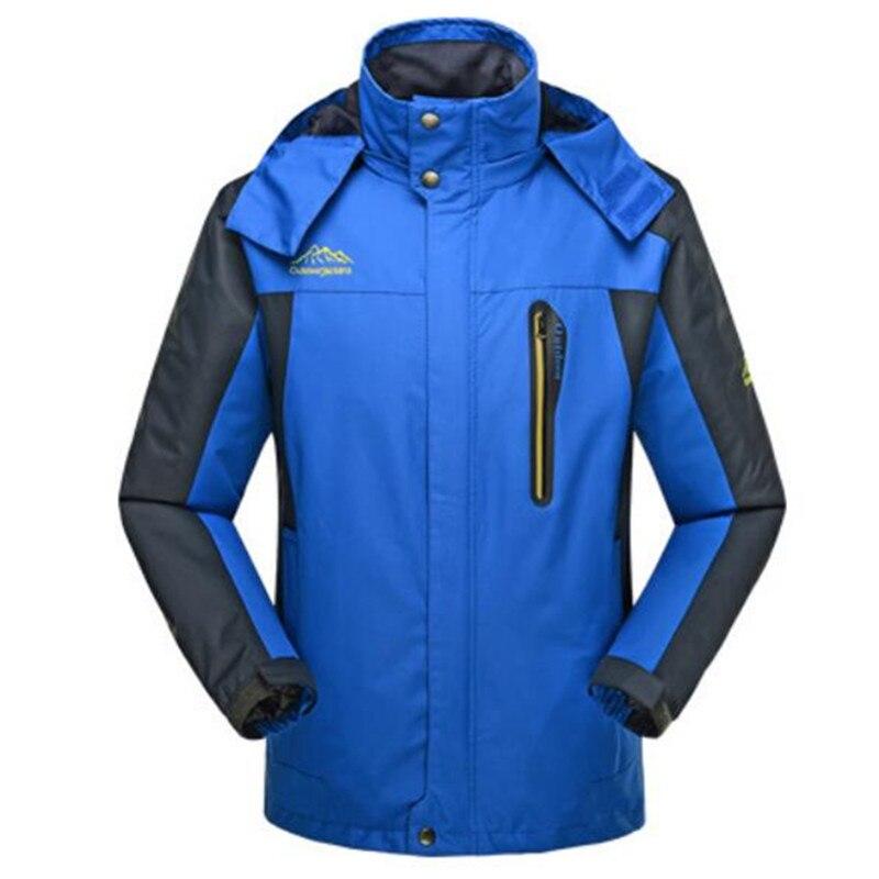 2016 automne hommes sports surdimensionné grande taille 4XL 5XL 6XL 7XL 8XL veste mâle à capuche coupe-vent poche manteau extérieur Outwear