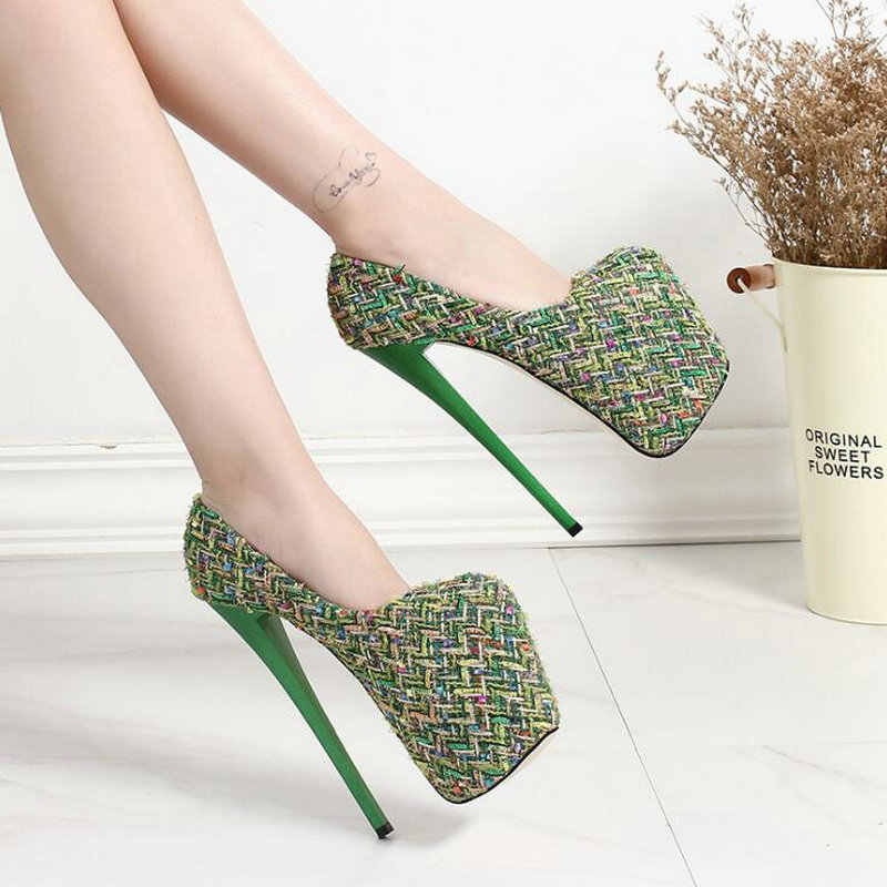 f5b8f1771b Detail Feedback Questions about Sexysuper High Heels Shoes Woman ...