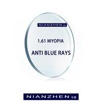 1,56 1,61 1,67 (+ 10,00 ~-10,00) анти-синий рецепт CR-39 полимерные очки линзы прогрессивная близорукость дальнозоркость Пресбиопия линзы