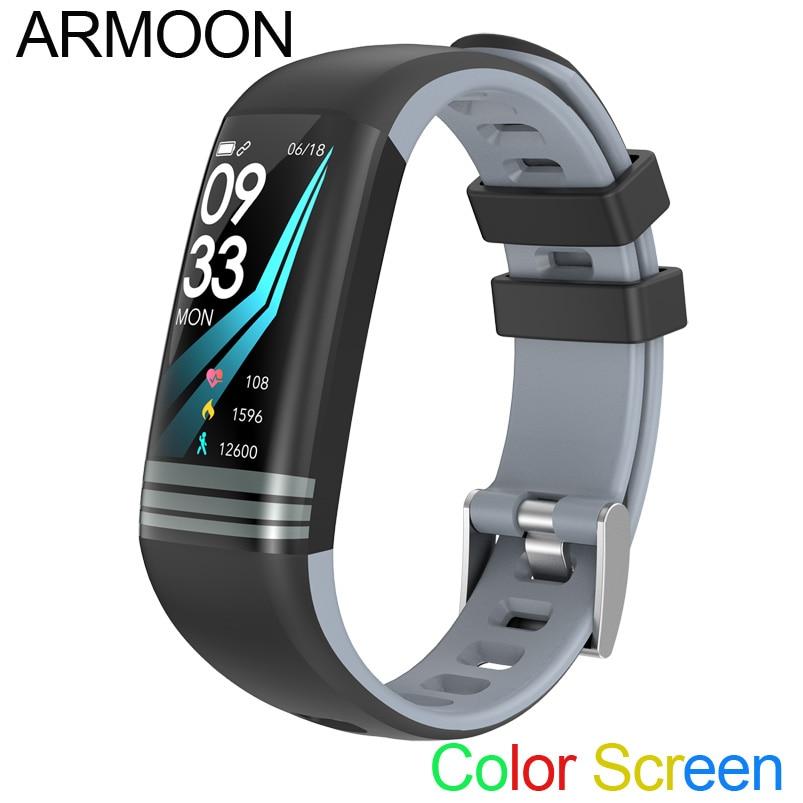 Banda inteligente G26 Android IOS corazón pulsera sueño Monitor de Fitness Tracker Color reloj con pantalla de modo deporte banda