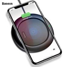 Беспроводное зарядное устройство Baseus 10 Вт Qi для iPhone 11 Pro Xs Max X 8 samsung S10 Note 10 Xiaomi Mi 9 Быстрая Беспроводная зарядка