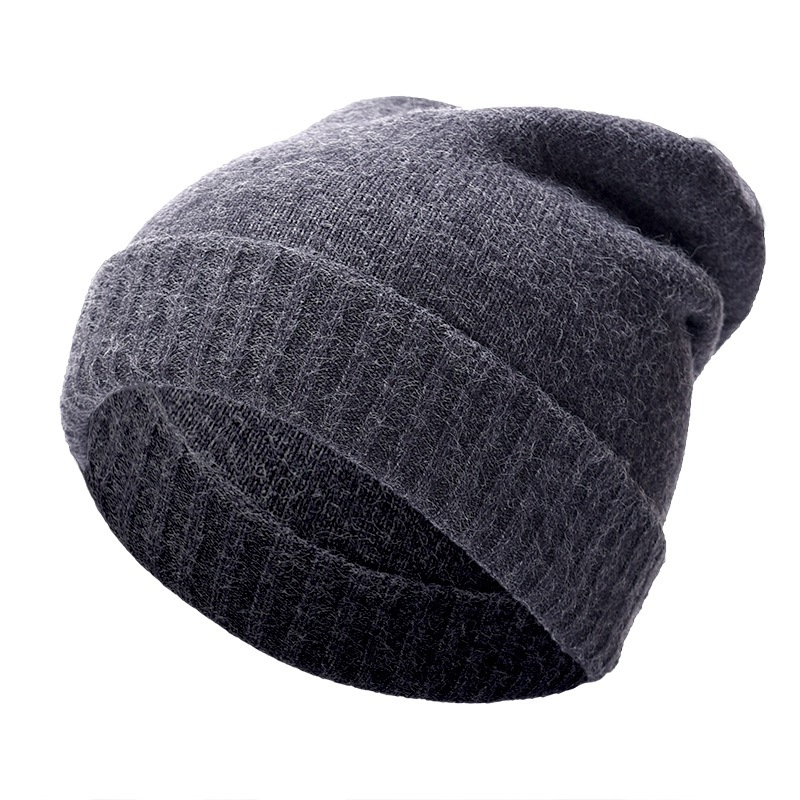2018 new men's and women couple ski caps warm winter knit outdoor hiking travel hiking hat cashmere warm windproof hat cappello