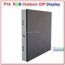 P16 открытый RGB из светодиодов знак, 768 мм * 768 мм, высокое яркое, экономичное решение, открытый полноцветный дисплей установлен p16 из светодиодов видео стены
