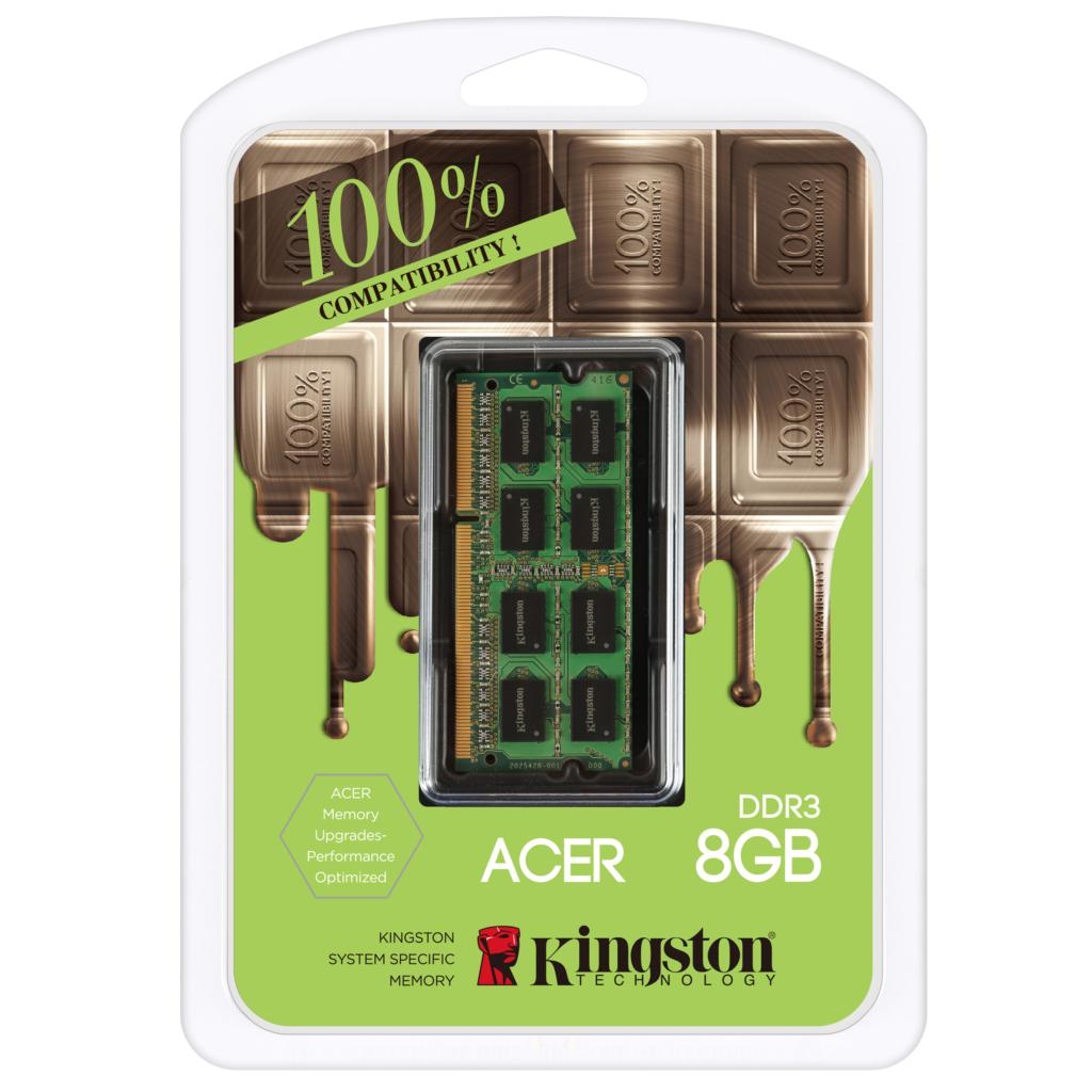 ФОТО Kingston for ACER brand notebook computers dedicated memory 100% compatible 4GB 8GB DDR3 1600MHz 1.35 V low voltage 4g 8g ram
