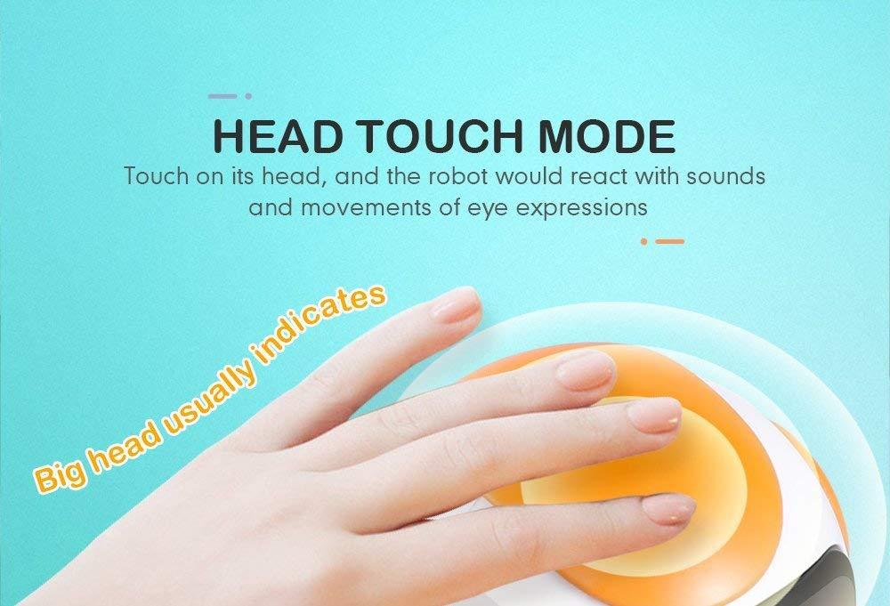 JJRC R8 LUKE Intelligent Robot Touch Control DIY Gesture Talk Smart Mini RC Robot Gift Toy 6