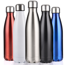 1pcs Vacuum insulated Water Bottle Cycling Camping Bicycle Sports Thermal Insulation Stainless Steel Bottle Climbing Accessories