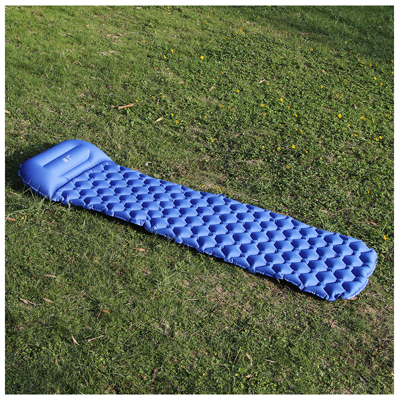 Image 3 - Ultralight Outdoor Inflatable Cushion Sleeping Camping Mat Sleeping Pad Mattress for Camping Hiking Backpacking Travel-in Camping Mat from Sports & Entertainment