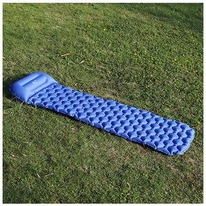 Image 3 - Ultralight חיצוני מתנפח כרית שינה קמפינג מחצלת שינה כרית מזרן לקמפינג טיולים תרמילאים נסיעות