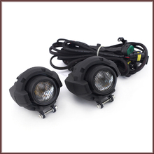 Front Driving Aux Lights Fog Lamp Assembly For BMW R1200GS F800GS F750GS F650GS R1150GS Motorcycle Accessories