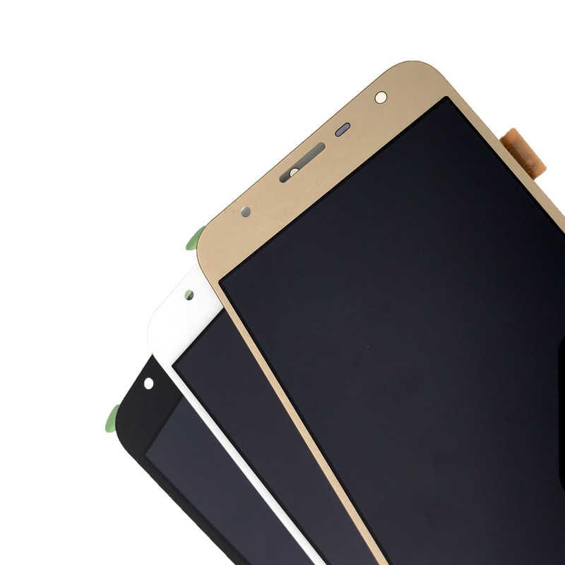100% اختبار J701 LCD شاشة لسامسونج غالاكسي J7 Neo J701 J701F J701M شاشة الكريستال السائل مجموعة المحولات الرقمية لشاشة تعمل بلمس استبدال