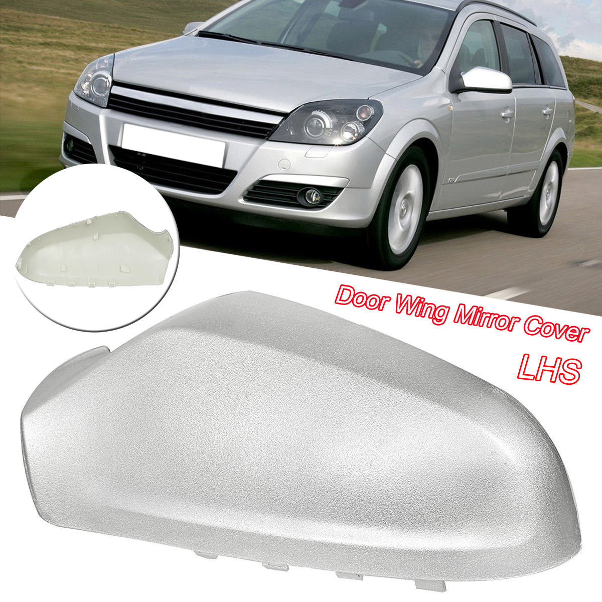 New Car Rearview Mirrors Cover for Vauxhall Astra H 05 ...