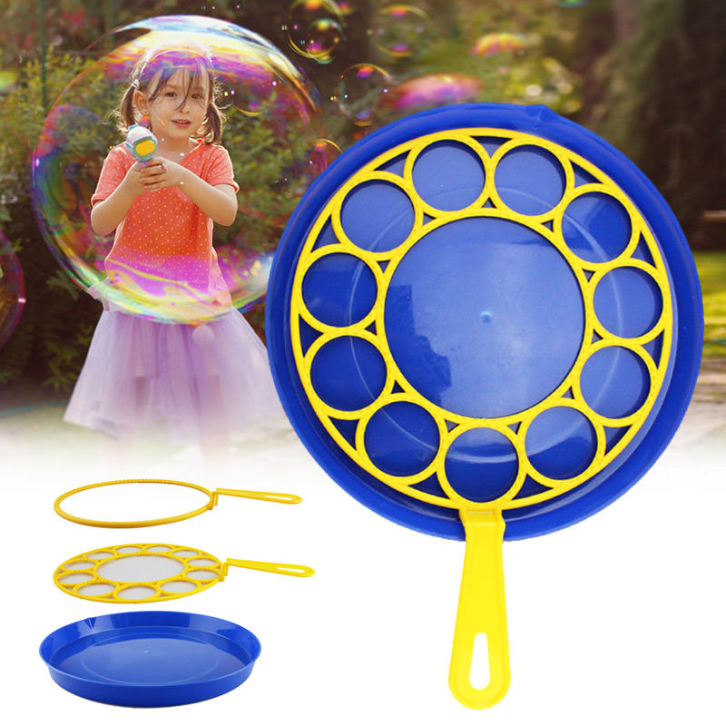 3pcs/Set Big Bubble Soap Bubble Blower Outdoor Kids Child Educational Toy Birthday Party Decor Wedding DIY Photo Props AN88