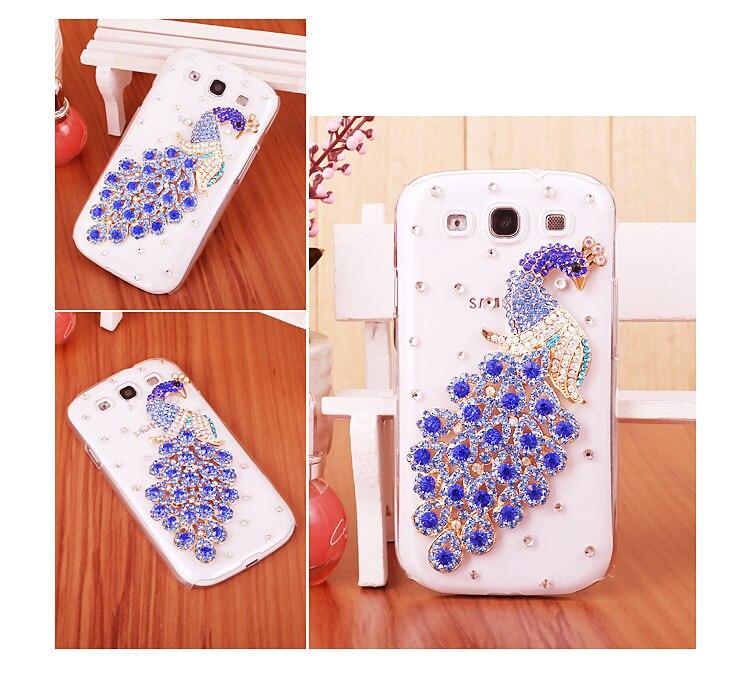 07 Peacock Bling Bling case for Samsung Galaxy Grand Prime VE 2015 G531H DS SM G531H
