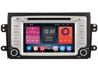 Android 6 0 CAR Audio DVD Player FOR SUZUKI SX4 2006 2014 Gps Car Multimedia Head