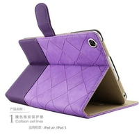 New Arrival Tablet Case For Apple Ipad 6 Ipad Air 2 Patchwork Colors Full Body Protective