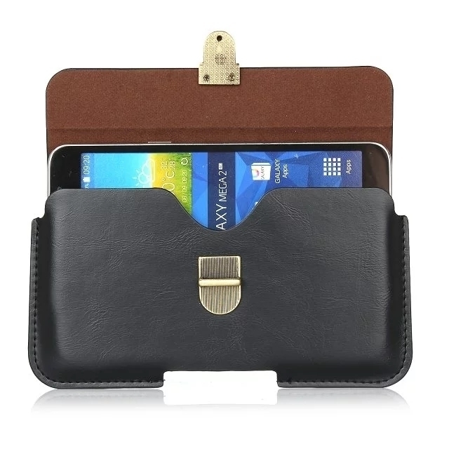 """Luxury Buckle Horizontal Leather Case For samsung galaxy s5 s4 s3 s6 edge a5 2015 5.1"""" Below Shell Hook Loop Belt Pouch Bags"""