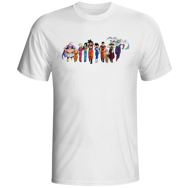 survival team from universe 7 t shirt dragon super cool hip hop casual t shirt - Team T Shirt Design Ideas