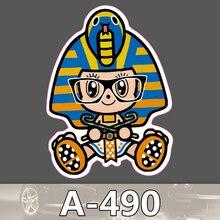 A-490 Pharao Wasserdicht Mode Kühle DIY Aufkleber Für Laptop Gepäck Skateboard Kühlschrank Auto Graffiti Cartoon Aufkleber