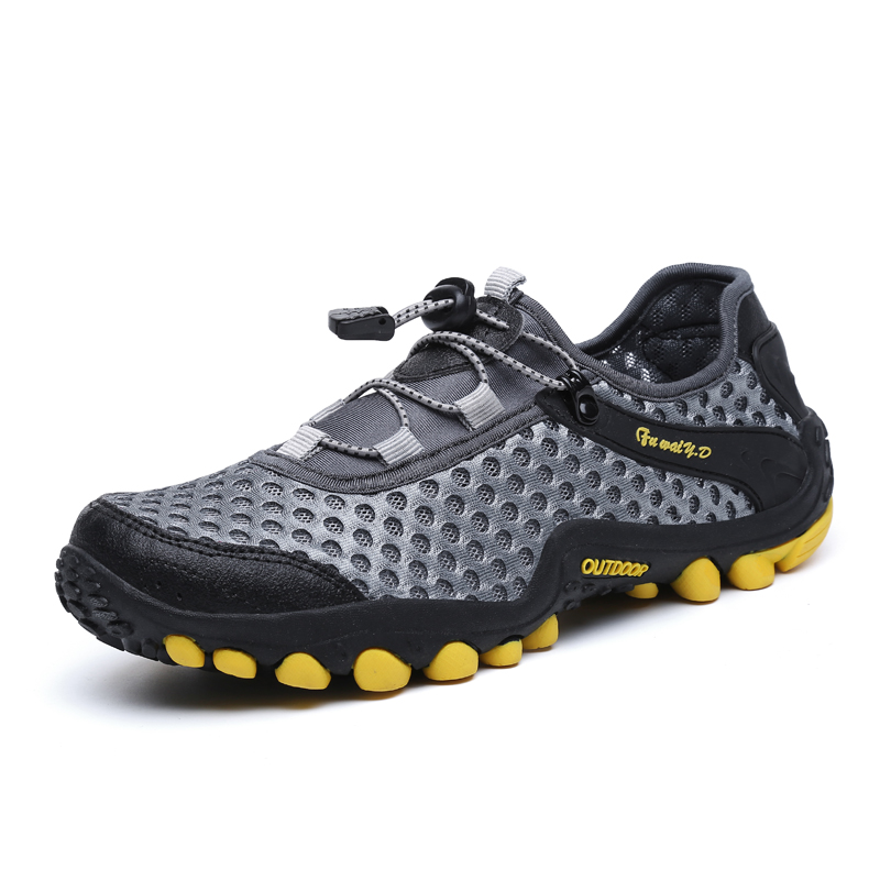 Hiking-Shoes Sport-Sneakers Waterproof Traveling Outdoor Women Unisex for Couple Jogging
