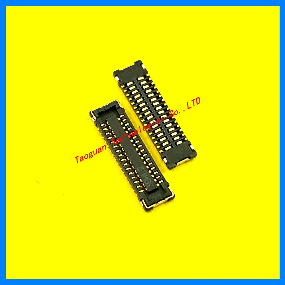 Original LCD display FPC Connector Port Plug on Mainboard for Apple iPad mini 1 2 3 MINI 32PIN replacement