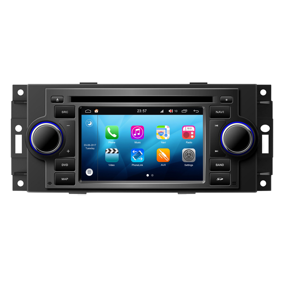 Android 8.0 Car Multimedia Player For Chrysler 300 300C 300M Aspen Concorde Town Country Pacifica PT Cruiser Sebring Voyager
