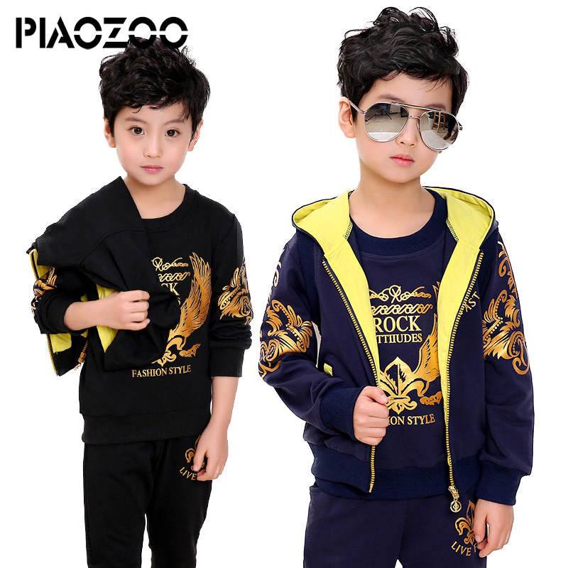 Toddler boys clothing set 3pcs new year costume kinder winter jogging suit autumn Clothes for boy tracksuit 6 8 10 12 14T P20
