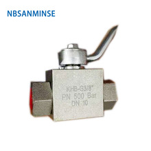 NBSANMINSE High Pressure Ball Valve Stainless Steel SS316 SR LR Thread Hydraulic Industrial Engineering Anticorrosion Valve цена