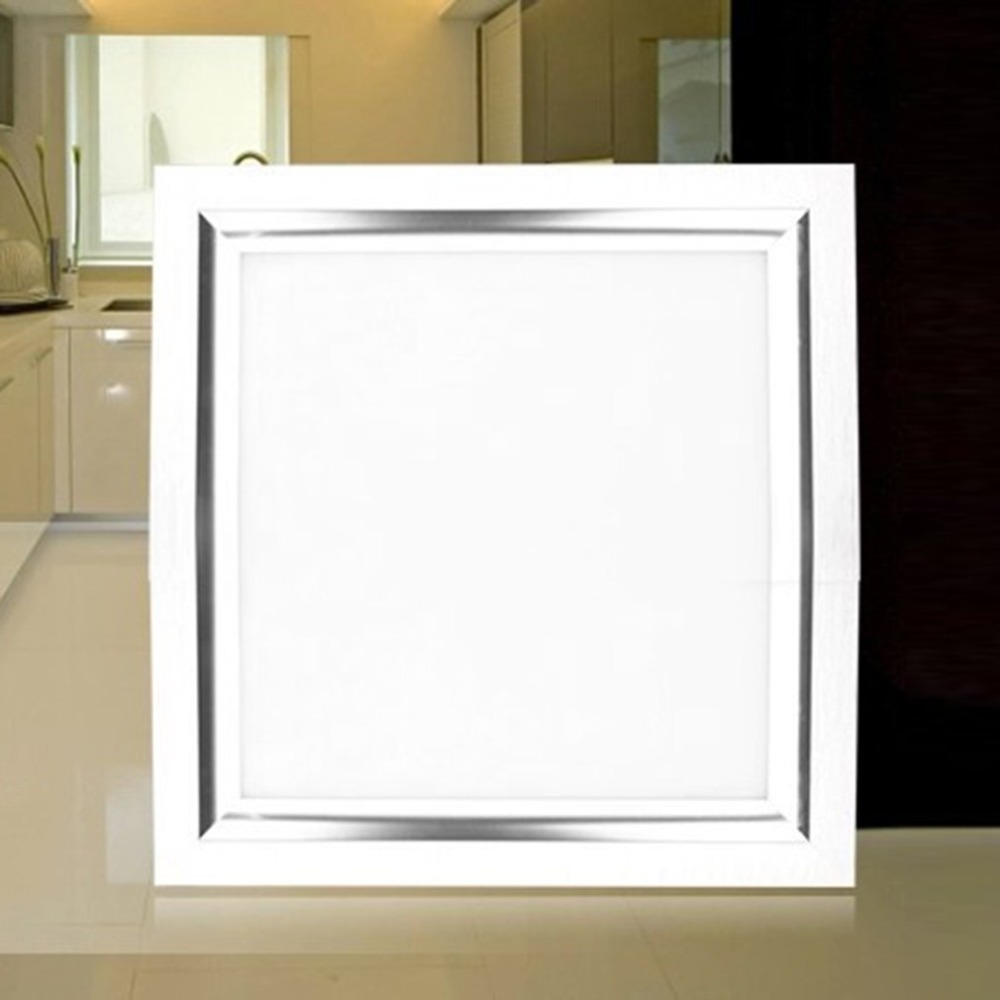 Ultrathin LED Ceiling Light Square Kitchen Light AC220V Integrated Panel Light Modern LED Flush