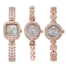 الملكي تاج سيدة ساعة نسائية اليابان كوارتز مجوهرات ساعات غرامة ساعة الموضة مخلب الإعداد كريستال سوار فاخر فتاة هدية