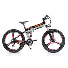 Aluminium Alloy Frame 48v 350w Electric Bicycle 12.8ah Lg Battery Full Suspension Electric Mountain Bike Front Rear Disc Brake new arrival double lg battery 100 150km long range electric bike mountain style full suspension e bike