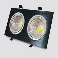 Wholesale price Super Bright Dimmable Led Down light COB Ceiling lights 20W cob led ceiling lamp AC85-265V + Driver
