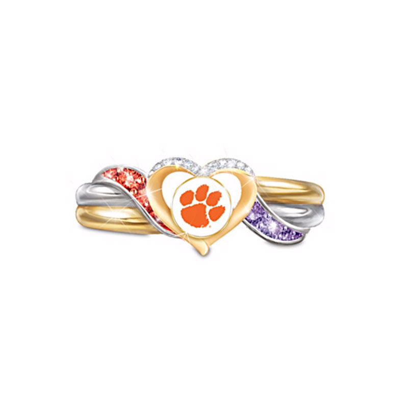 2016 Clemson Tigers Championship Rings For Woman, Wedding