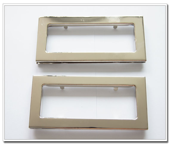 Dez pares 3.6 polegada (diâmetro Interno) prata