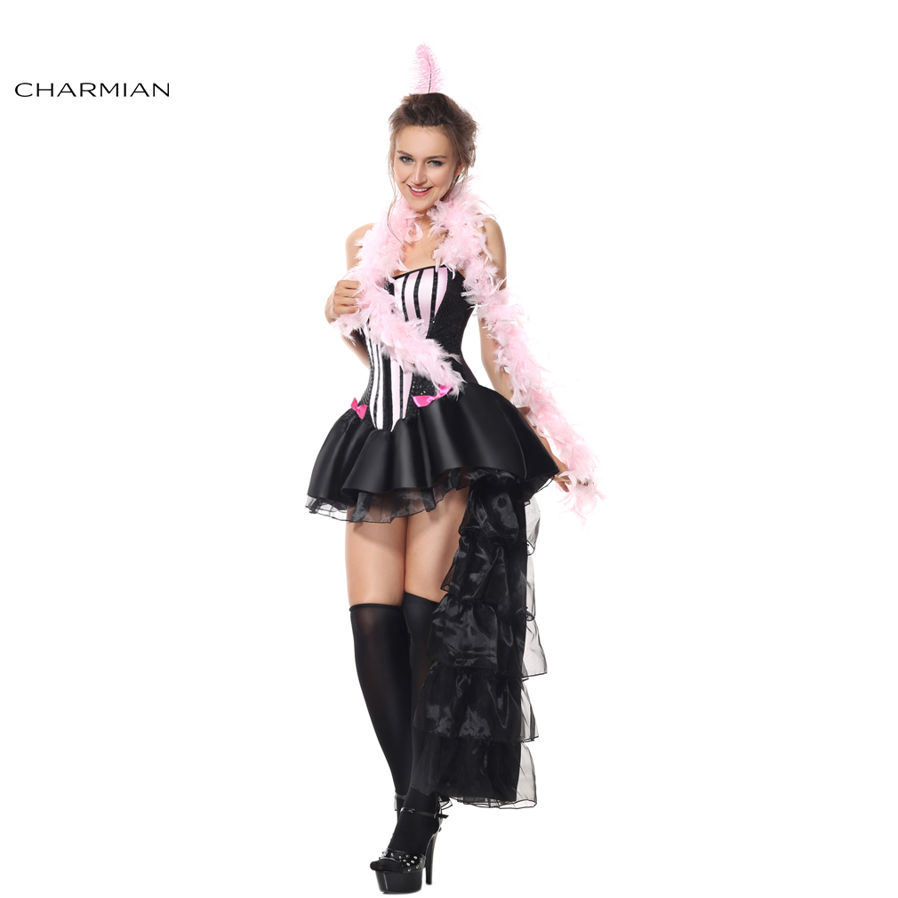 Charmian Halloween Costume for Women Burlesque Corset Dress Dancing Performance Carnival Party Costume Feminina Para Festa-in Holidays Costumes from Novelty ...  sc 1 st  AliExpress.com & Charmian Halloween Costume for Women Burlesque Corset Dress Dancing ...