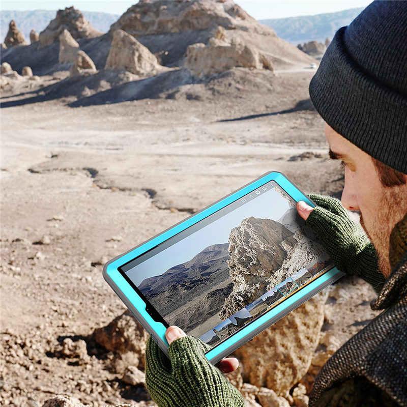 Untuk Galaxy Tab S5e Case 10.5 Inci 2019 Rilis SM-T720/T725 SUPCASE UB Pro Full-Body Kasar Cover dengan Built-In Screen Protector