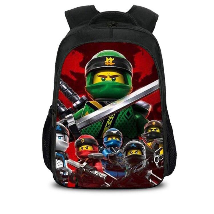 2019 Children School Bags Ninjago Game Schoolbag For Boy Backpack Game Printing Book Bag Backpack For Teenagers Sac A Dos Enfant