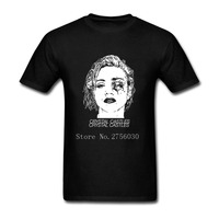 Madonna Crystal Castles Slim Fit T Shirts Autumn Men Custom Short T Shirt Homme Shirts Mens