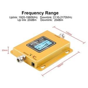 Image 4 - 70db 3G 2100 Repeater Mobiele Telefoon Signaal 2100 Mhz Repeater Mobiele 2100 Mhz Signaal Booster Versterker Lcd Mini 3G Lte Wcdma Umts
