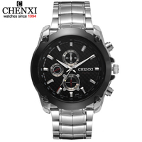 New Chenxi Men Quartz Watch CX036 Fashion Casual Sports Watches With Alloy Steel Brand Analog Wristwatches