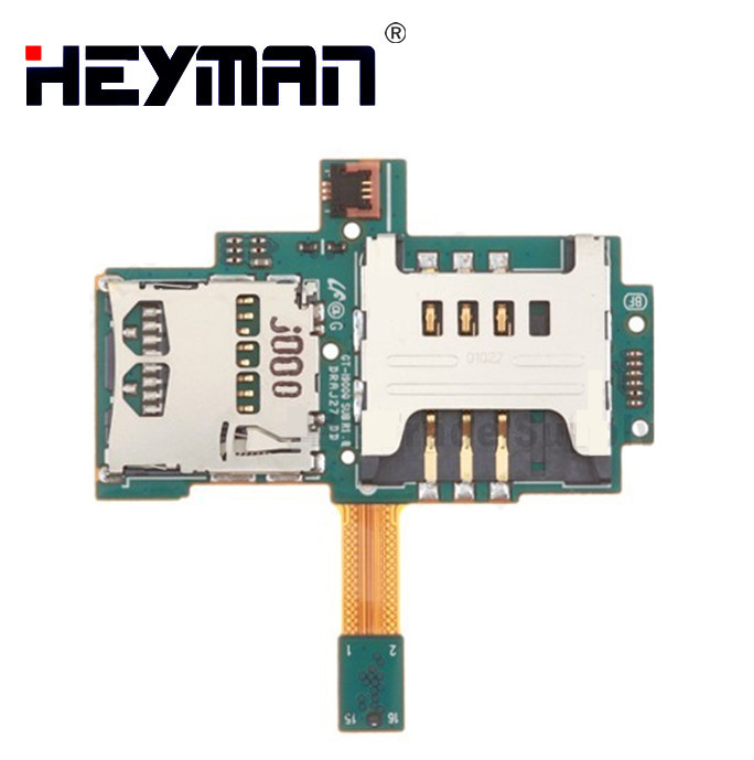 Flex Cable for Samsung Galaxy S i9000 GT-i9000 (SIM Card with SD memory card connector with flat cable)