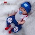 55cm Reborn Baby Dolls Alive Born Baby Dolls Bebe Boy Children Silicone Newborn Dolls Bonecas juguetes For Children