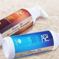 Siêu rẻ bán buôn mua 5 PCS tặng 1 miễn phí purc Moroccan Argan Oil Nuôi dưỡng tóc dầu gội và dầu Xả Vận chuyển miễn Phí Pure