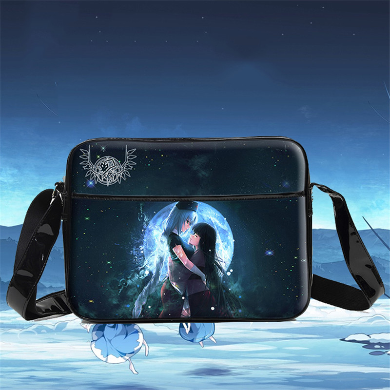 Hot Sale Japan Anime Touhou Project Shoulder Bag Cartoon Unisex School Laptop Crossboy Bags