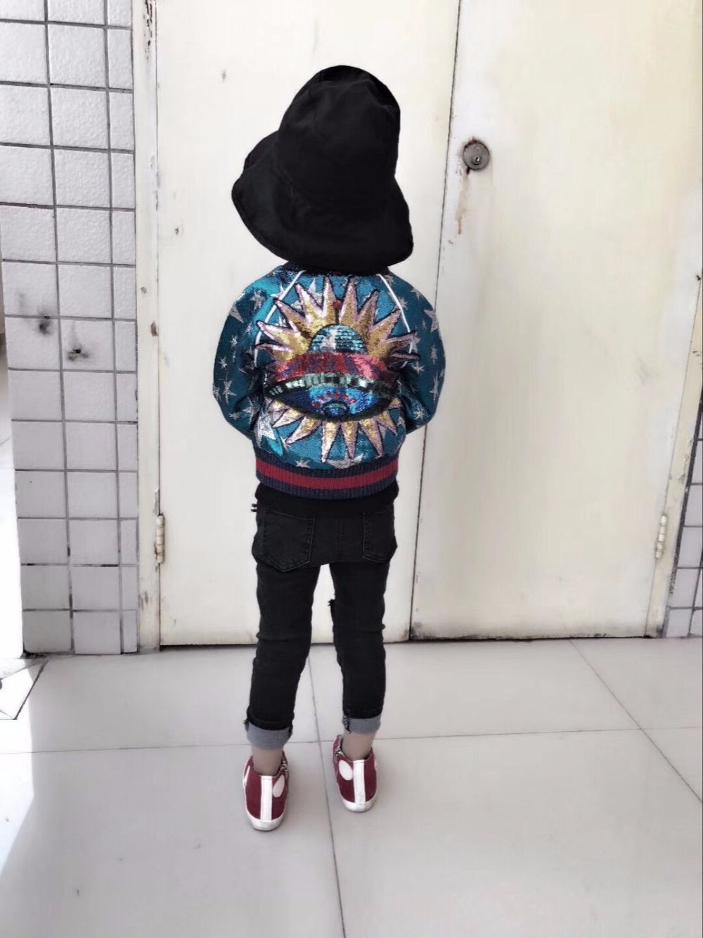 2017 Winter kids coat embroidered flares girls outerwear baby winter coat boy girls winter jacket cotton padded kids clothing children winter coats jacket baby boys warm outerwear thickening outdoors kids snow proof coat parkas cotton padded clothes