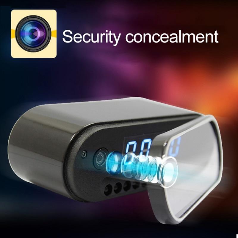 Remote Control Mini Camera Clock Alarm P2P Livecam IR Night Vision Wifi Cam IP 720 Mini DV DVR Camcorder Wifi Invisible hidden