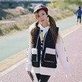 2015 new spring fashion casual vintage punk warm sleeveless jacket waistcoat women winter sport cotton vest free shipping