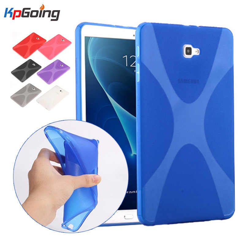 Fashion Matte TPU Tablet Case for Samsung Galaxy Tab A 10.1 2016 T580 Cover for Samsung Tab A 10.1 T580 T585 Case Cover