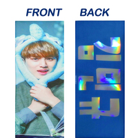 Aliexpress com : Buy mini kpop doll slogan towel customized Korean