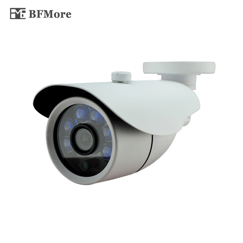 BFMore 1080P 2MP Audio+POE IP Camera Sony IMX323 CCTV Cam IR Night Vision Surveillance Monitor Security Camhi Waterproof Outdoor smar outdoor bullet ip camera sony imx323 sensor surveillance camera 30 ir led infrared night vision cctv camera waterproof