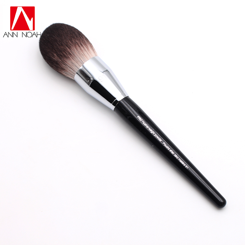Professional Black Long Wood Handle Velvet Touch Feeling Synthetic Fiber 91 Large Pro Feather Weight Powder Makeup Brushes канадский виски black velvet в украине